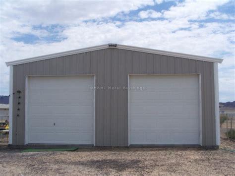 Metal Garage Kits Steel Garage Kit Photos Mbmi Metal Buildings