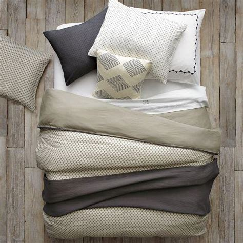 how to layer a bed layered bed looks neutral luxe linen west elm