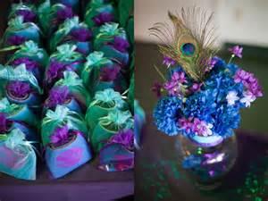 peacock wedding decorations peacock purple turquoise wedding details centerpieces favors wedding ideas