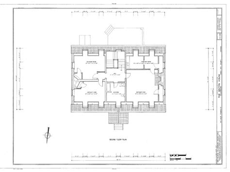 historic floor plans historic colonial house plans colonial williamsburg house
