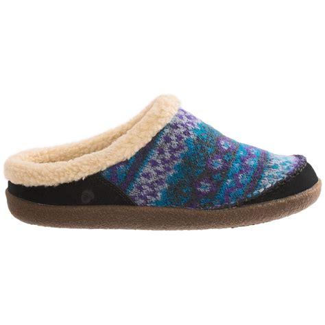 acorn womens slippers acorn crosslander mule slippers for 7649k save 71