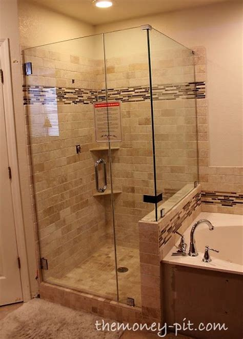 cost of frameless glass shower doors cost of frameless shower door estimate