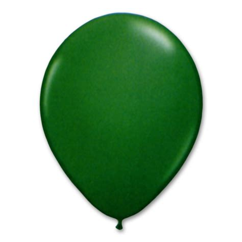 balloon rubber st festive green balloon 12 inch inflated