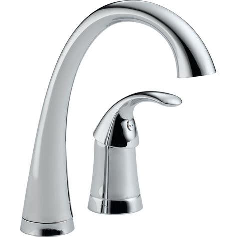 Delta Waterfall Kitchen Faucet Delta Chrome Waterfall Faucet Pull Chrome Delta
