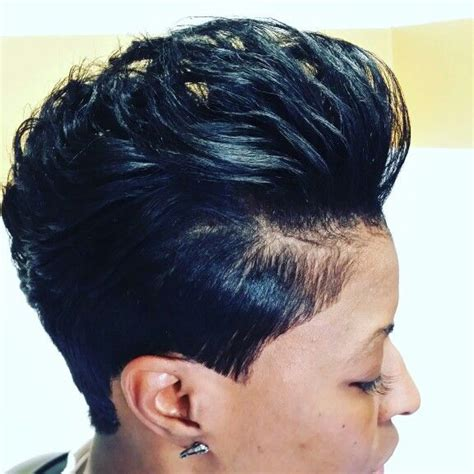 hairstyles for short relaxed hair pinterest 25 best ideas about black pixie haircut on pinterest