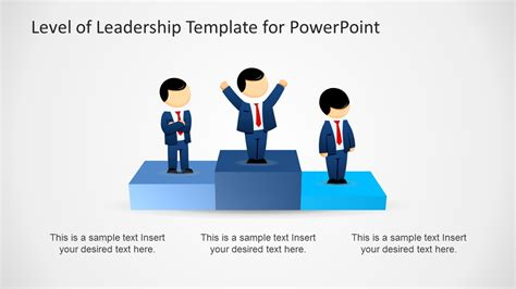 leadership cartoons for powerpoint presentations slidemodel leadership levels diagram template for powerpoint slidemodel