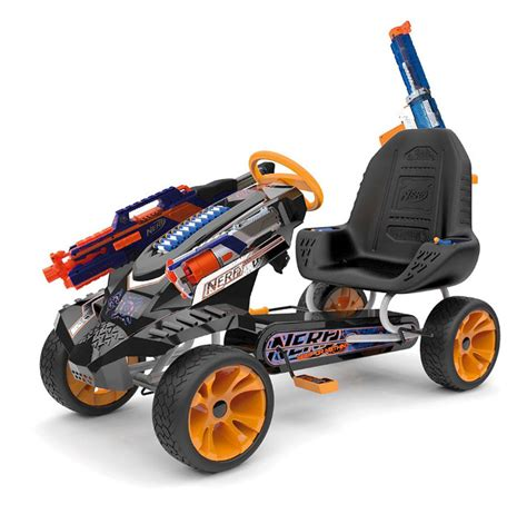 Pew Pew Nerf Pedal Car For Blasting On The Go Geekologie