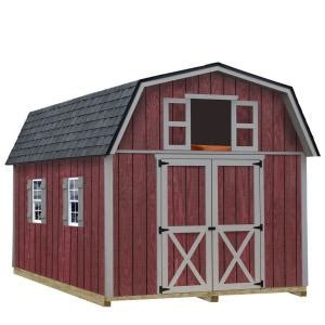 diy shed kit home depot best barns woodville 10 ft x 12 ft wood storage shed kit