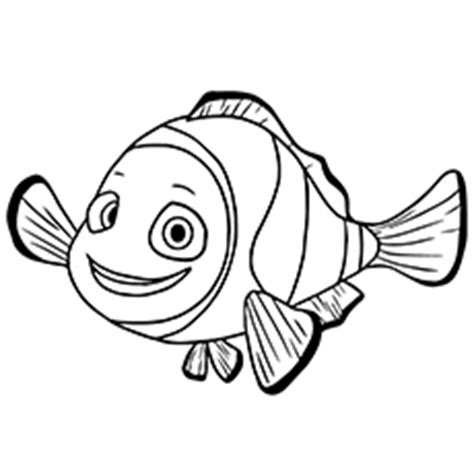 finding nemo coloring pages  printables kids