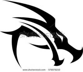 tribal dragon tattoo stock images royalty free images