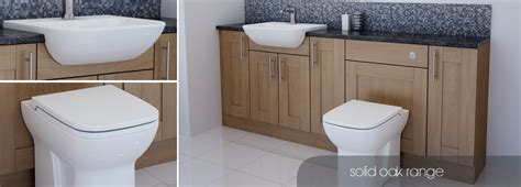 oak bathroom furniture bathcabz bathroom fitted furniture solid oak furniture