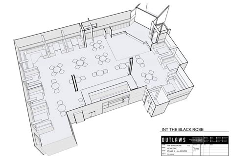 isometric floor plan production design of true detective interview with