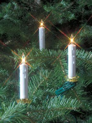 clip on christmas tree candle lights