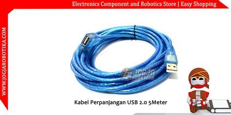 Kabel Perpanjangan Usb Websong 10m jual kabel perpanjangan usb 2 0 5 meter