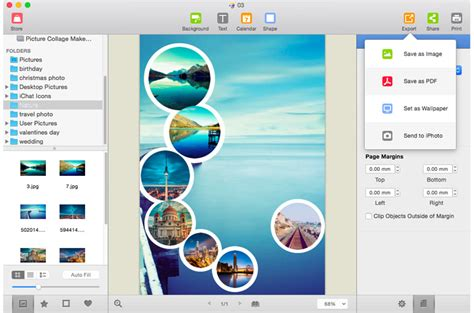 picture collage maker for mac photo collage maker