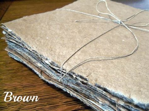 Handmade Paper Sheets - 10 small sheets of handmade paper small sizes 2x3 4x4 4x5