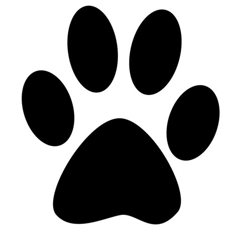 Free Illustration Silhouette Reprint Paw Foot Free Image On Pixabay 1314467 Paw Print Silhouette