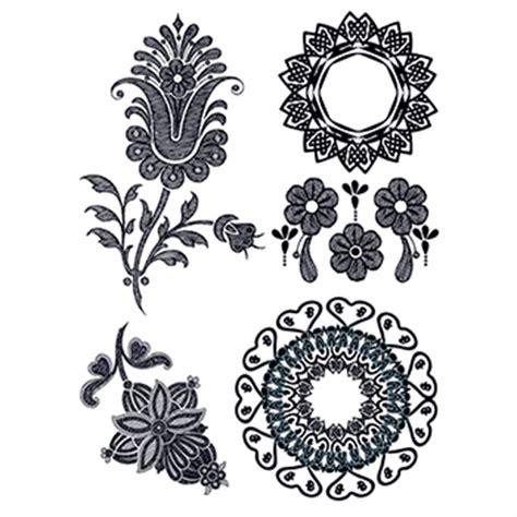 Temporary Tato Setan henna temporary set usimprints