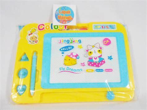 Kado Mainan Edukasi Alat Bantu Belajar Bentuk Bangun Kotak Pas jual papan tulis hapus mainan edukatif lapak mainan