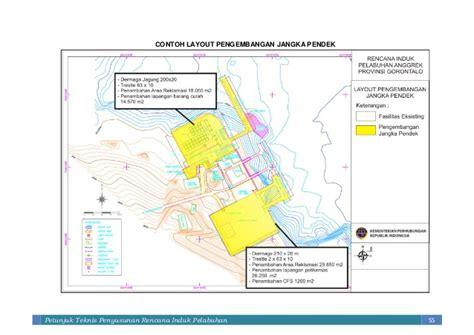 layout pelabuhan penumpang juknis penyusunan rencana induk pelabuhan