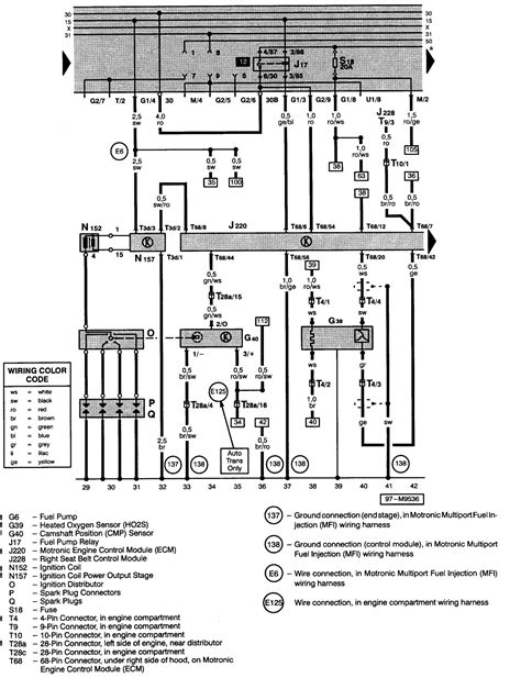 vw jetta stereo wiring diagram with passat radio