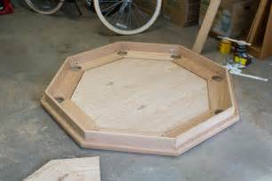 Pedestal Poker Table Octagon Poker Table Part 4 Subtable And Playing Surface