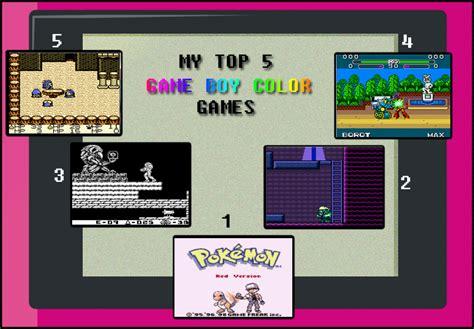 top gameboy color my top 5 boy color meme by toongrowner on