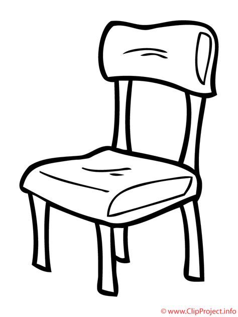 stuhl malen stuhl bild ausmalbild kostenlos