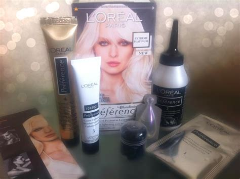 photos of extreme platinum blond hair bumpkin broke and reading l oreal preference les