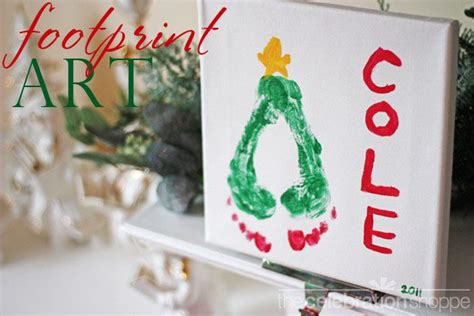 40 creative handprint and footprint crafts for christmas