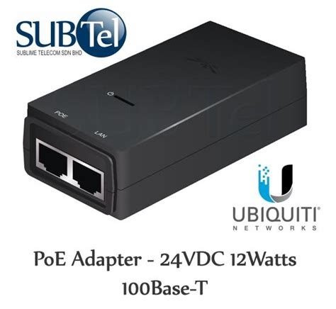 Adaptor Ubnt 24v ubiquiti power ethernet poe adapter 24v 12w u end 5 22 2016 12 15 00 am