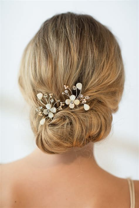 Wedding Hair With Pin by Wedding Hairpins Bridal Hairpins Of Pearl Wedding