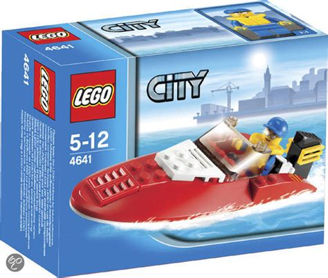 speedboat lego bol lego city speedboot 4641 lego