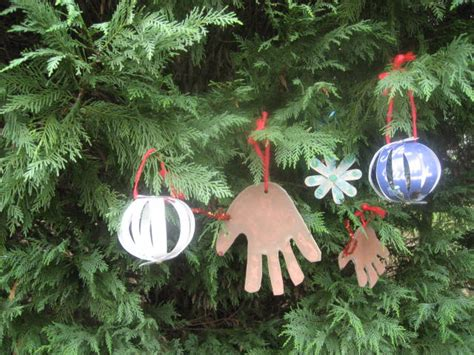 Handmade Ornaments To Make - craft 3 ornaments on as we grow