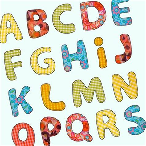 applique letters template letter patterns for applique 1000 free patterns