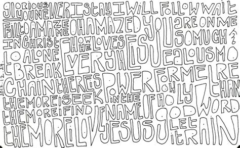 doodle word word doodle 019 by kisaho on deviantart
