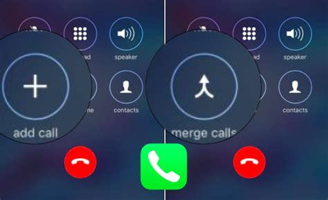 iphone conference call how to add merge calls