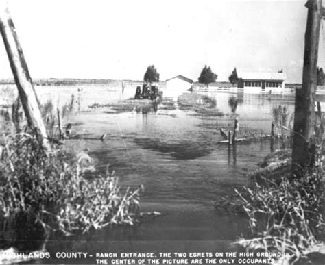 Highlands County Fl Court Records Florida Memory Flooded Ranch Highlands County Florida