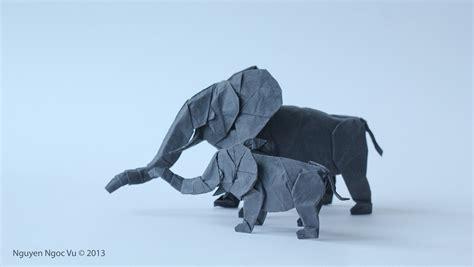 White Elephant Origami - 31 origami elephants to fold for the elephantorigamichallenge