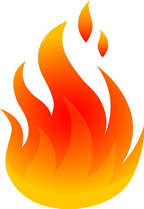 Flames Clipart Free best clipart 24240 clipartion
