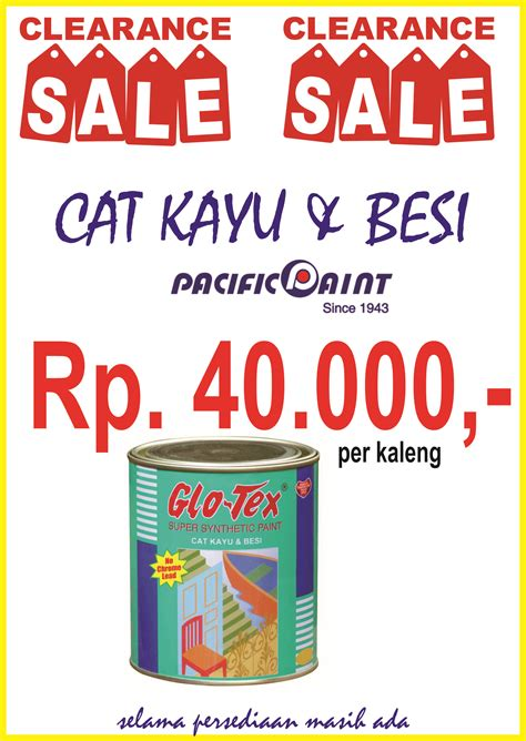 Diskon Sale Sisa Stock Cat Kayu Besi M One 100 Cc Biru clearence sale cat besi kayu glotex acc bangunan