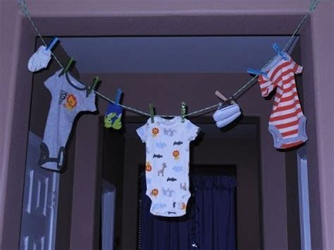 themes for a clothing line jus4sweetz economical baby shower clothes line youtube