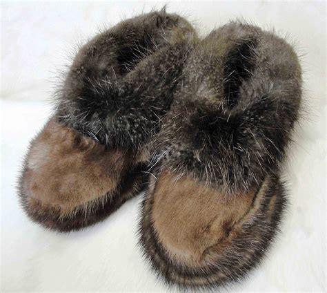 beaver fur slippers alaska fur exchange unique alaska gifts and keepsakes