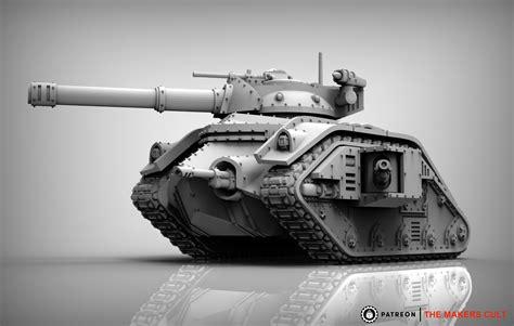 feudal guard battle tank  print model cgtrader