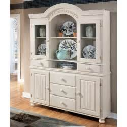 Kitchen Buffet And Hutch Furniture Cottage Retreat Buffet With Hutch Signature Design By
