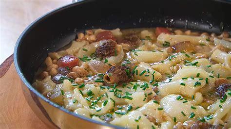 cocina callos receta de callos de bacalao con setas de primavera