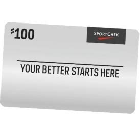 10 off 100 sport chek gift card ebay ca - Sport Chek Gift Card Discount