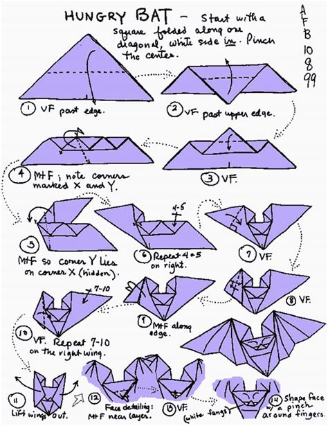 How To Make A Origami Bat - top 10 origami designs