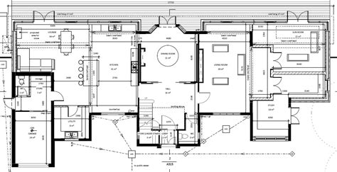 plan set architectural floor plans