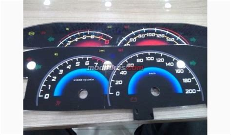 Speedometer Custom Toyota Vios panel speedometer vios type g